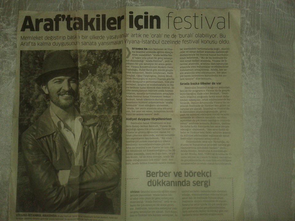 Araftakiler için festival